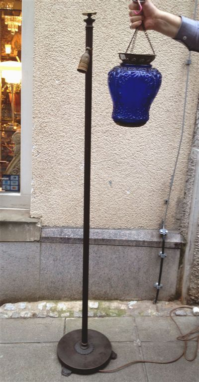 Lampe-Boden-Glas-blau-IMG_0040